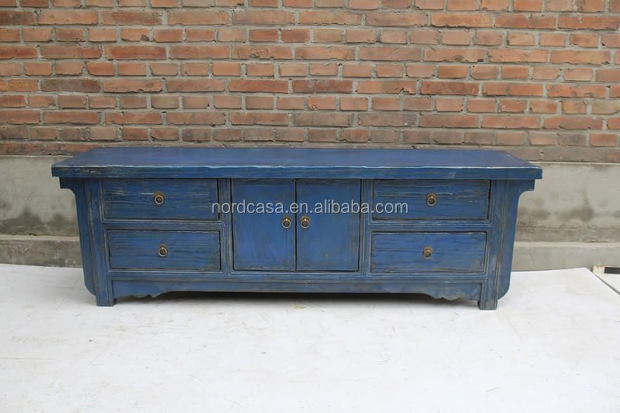 Chino Muebles Antiguos Reproducción Dos Puertas Cuatro Cajones De ...