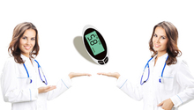 Glucose & Cholesterol and Uric Acid Meter 2 in 1 Continuous Glucose Monitor Gluco Meter