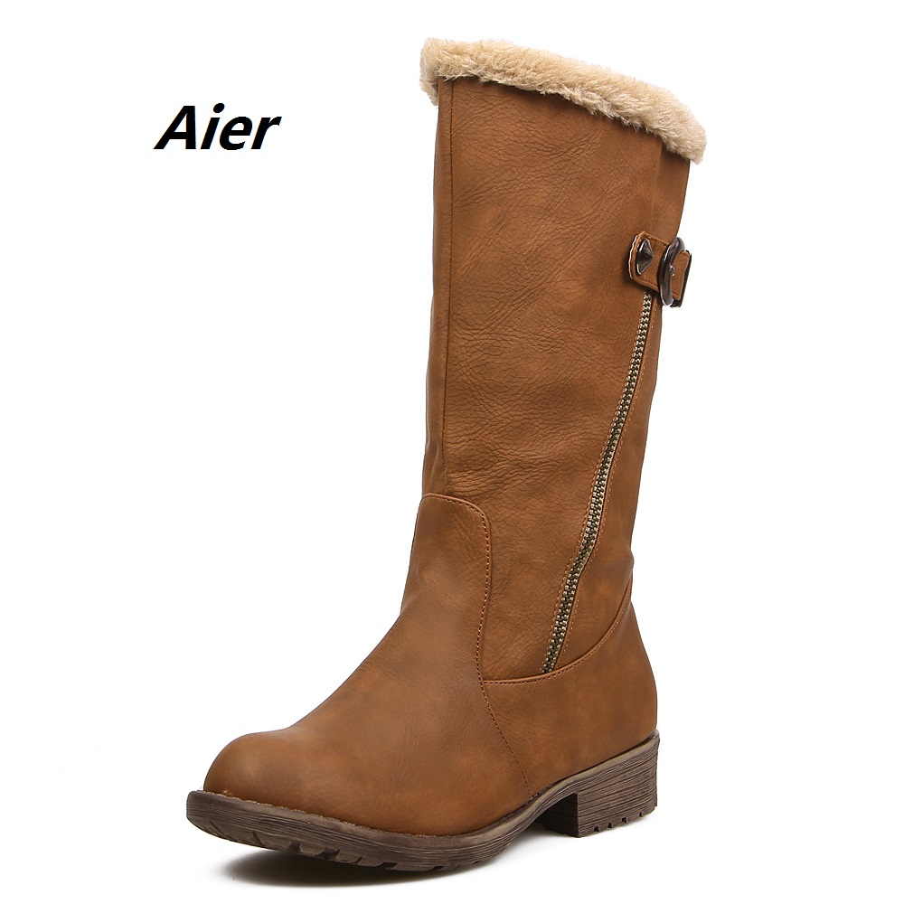 Winter boots Autumn boots women shoes woman snow boots new