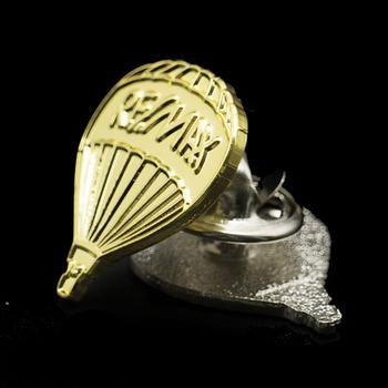 Golden Silver Parachute Wedding Lapel Pins Mini Clothing Badge Bollywood Hindi Mp3 Songs