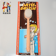 Most popular sexy penis bath brush for hen party