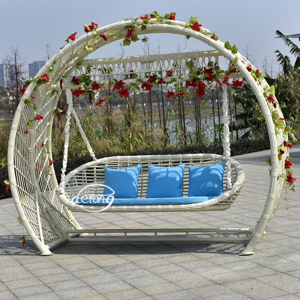 Outdoor Furniture Swing For Adult Jhula Egg Chair