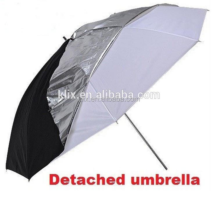 Witte paraplu fotografie