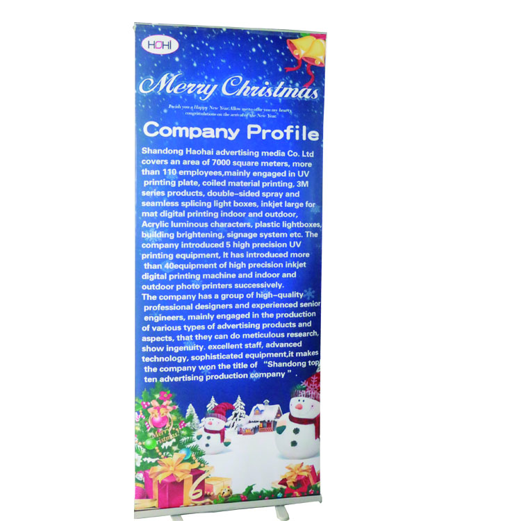 Poster Stand display stand roll up banner poster board  roll up banner design 80*200 roll up banner