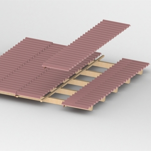The best professional aluminium photovoltaic solar roof tile for Solar Mounting System
