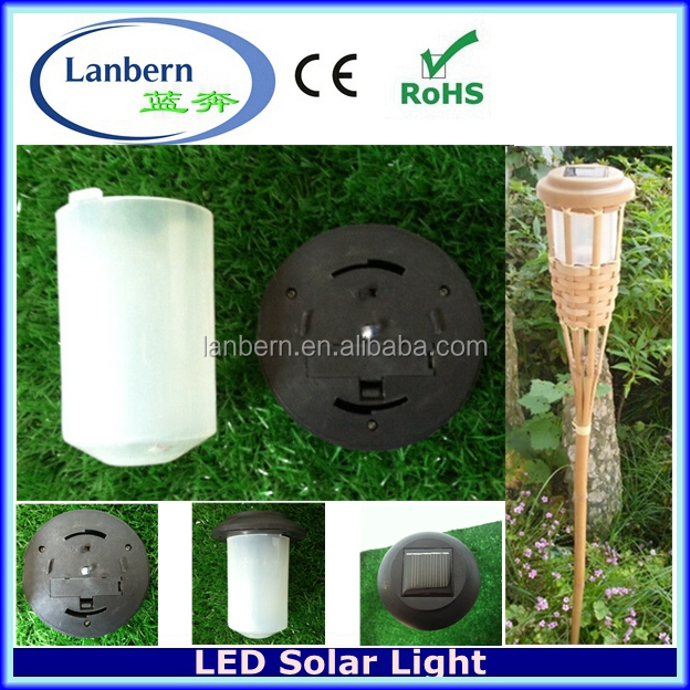 2016 Decorative Bamboos Latest High Powered Outside solar light JD-701C