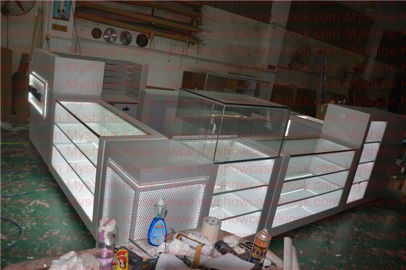 fashion mobile phone shop decoration design