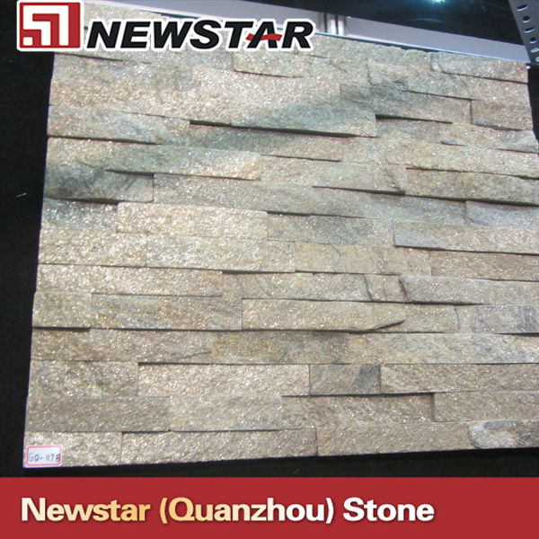Newstar quartzite stone wall panel