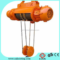 electric wire rope in ground hoist