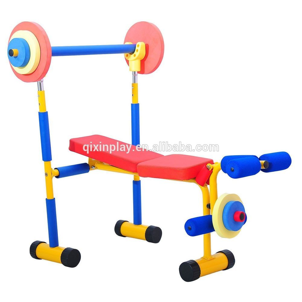Cheap price kids exercise equipment toddler gym equipment for home childrens fitness equipment Kids weight bench