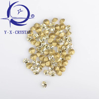 YUXING CRYSTAL High Quality BlingBling Point Back Rhinestones