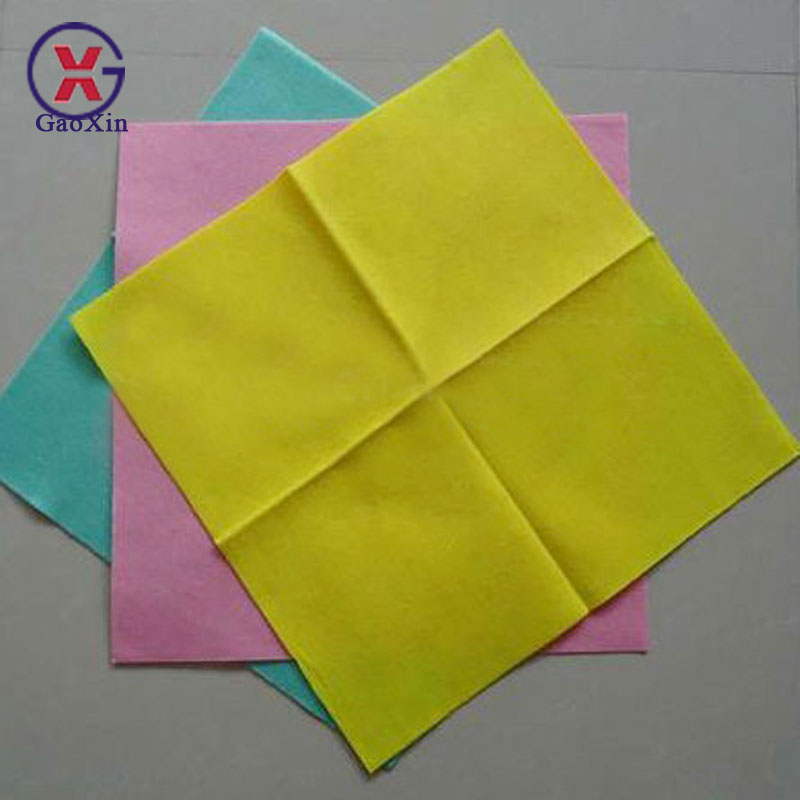 Needle-punched Nonwoven Custom Print Microfiber Cleaning Cloth Table Wiping Cloth and Wash Wipes