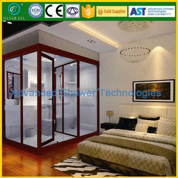 Frp Prefabricated Modular Bathroom Design Shower Cabin