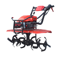 small farm corn planter tiller cultivator with different implements