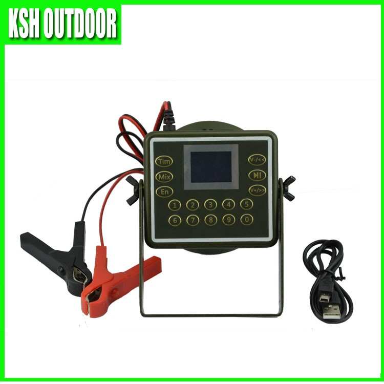 2017 newest waterproof bird calling device, mp3 bird caller for hunting