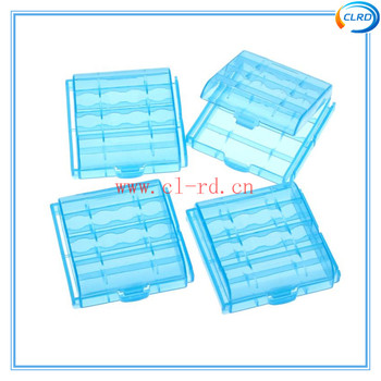 High Quality Small Hard Plastic Battery Case Holder Storage Box For AA AAA  Battery Tool Box