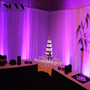 Party backdrop drapes/backdrop design,wedding crystal backdrop, pipe and drape kits for events/wedding pipe and drape