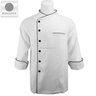 Super quality hot sell hotel chef restaurant uniforms black chef uniform japanese chef uniform