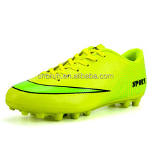 2018 factory customize brand made soccer boots football shoes