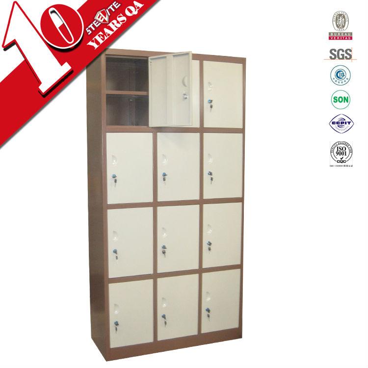 12 door compartments steel high school lockers shoe for 12 door lockers