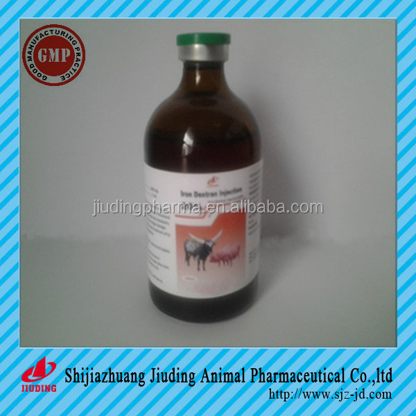 Good quality nice price Iron dextran injection for veterinary