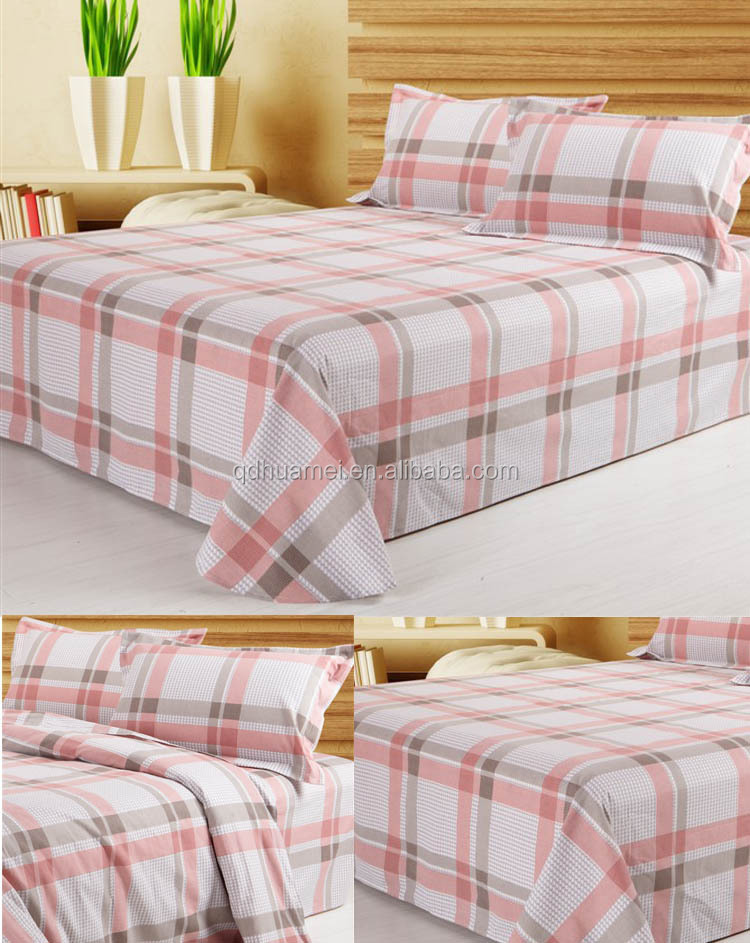 100 Polyester Bed Set 100 Polyester Cheap Fleece Fitted