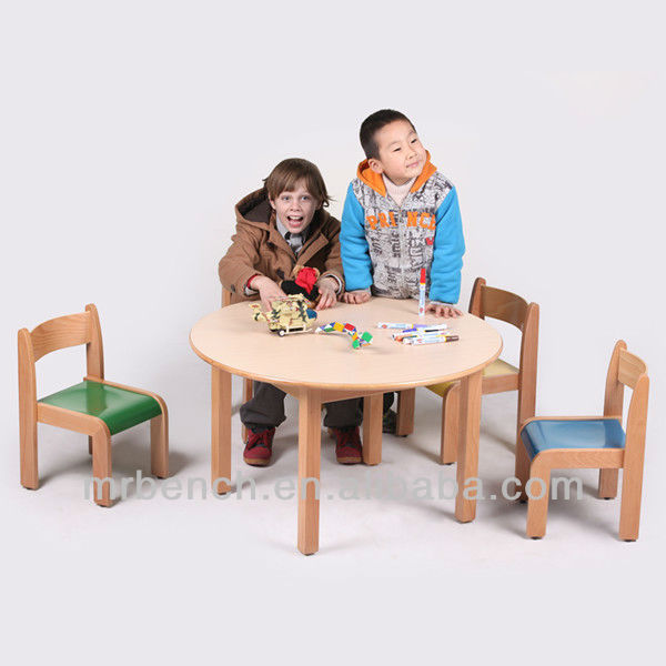 en bois massif table pliante 4 chaises enfants tabouret. Black Bedroom Furniture Sets. Home Design Ideas