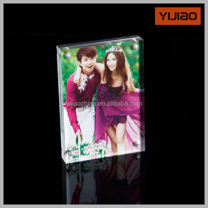 Wholesale Acrylic Fridge Magnet Photo Frame