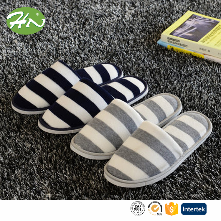 wholesale floor fashion hotel terry slipper without logo