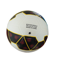 High Quality Rubber Football Manufacture Official Size Rubber Golf Soccer Ball