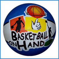 personalized printing child inflatable rubber basketball