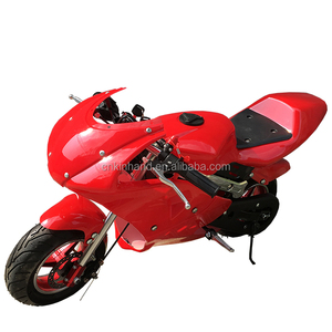 Cheap 49cc 2 stroke air cooled pocket bike with CE certification