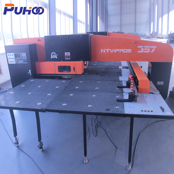 China used CNC mechanical power press metal sheet steel hole punching machine