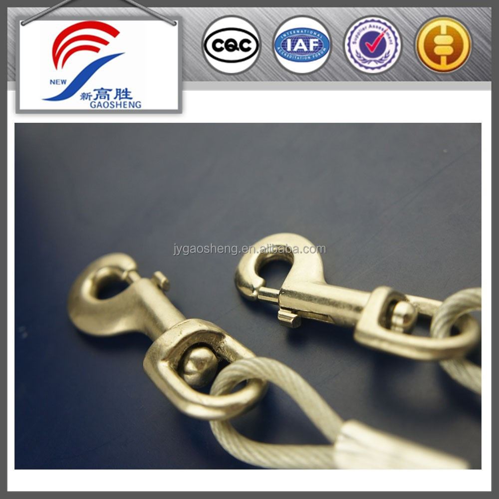 Stainless Steel Wire Rope Sling With Snap Hook - Buy Stainless Steel ...