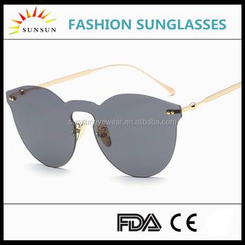Design Your Own Sunglasses 2017 Vintage Glasses Frameless Sun ...