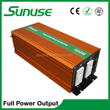 Pure sine wave dc-ac 5000w inverter GFCI solar power inverter 12v 24v 48v to 220v 230v 240v supply