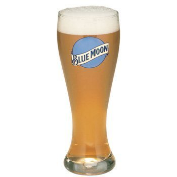 Set Of 2 Blue Moon Pint 20oz Glasses Brand New 100/% Genuine Official