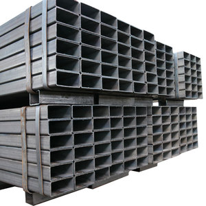 High Quality ERW Square and Rectangular Steel Pipes and Tubes from china