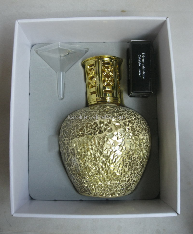Pvc Gift Box Packing Luxury Mosaic Fragrance Lamp