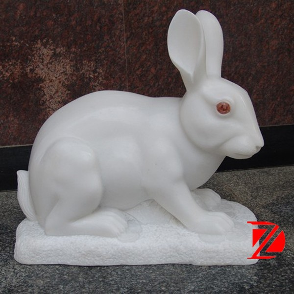 Natural White Stone Rabbit Sculpture Garden Statues   Buy Stone Rabbit,Stone  Rabbit Sculpture,Stone Rabbit Statues Product On Alibaba.com