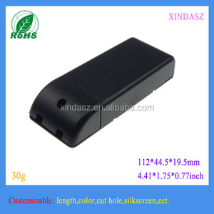high quality triac dimmable led driver transformer plastic enclosure 112*44.5*19.5mm
