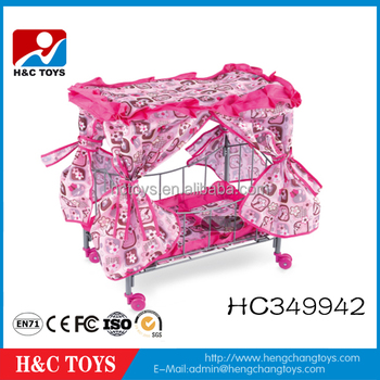 Funny Furniture Toys Metal Doll Bed Baby Doll Crib Hc349942 Buy