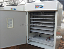 1000 eggs automatic chicken egg incubator for sale