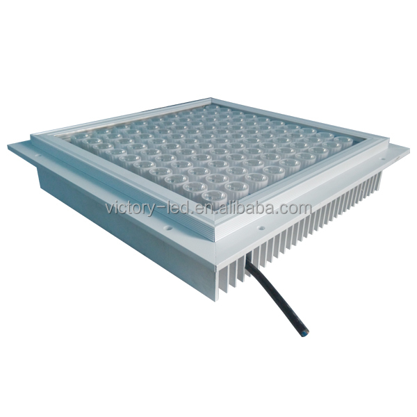 CE & RoHS approval high brightness 120w led canopy light for petrol station