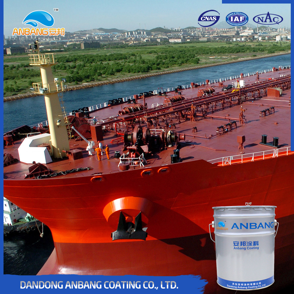 AB303 epoxy siloxane anti fouling marine paint with resistance to chemical and abrasion