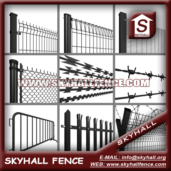 ISO 9001:2008 Wire Mesh Fence for World Market