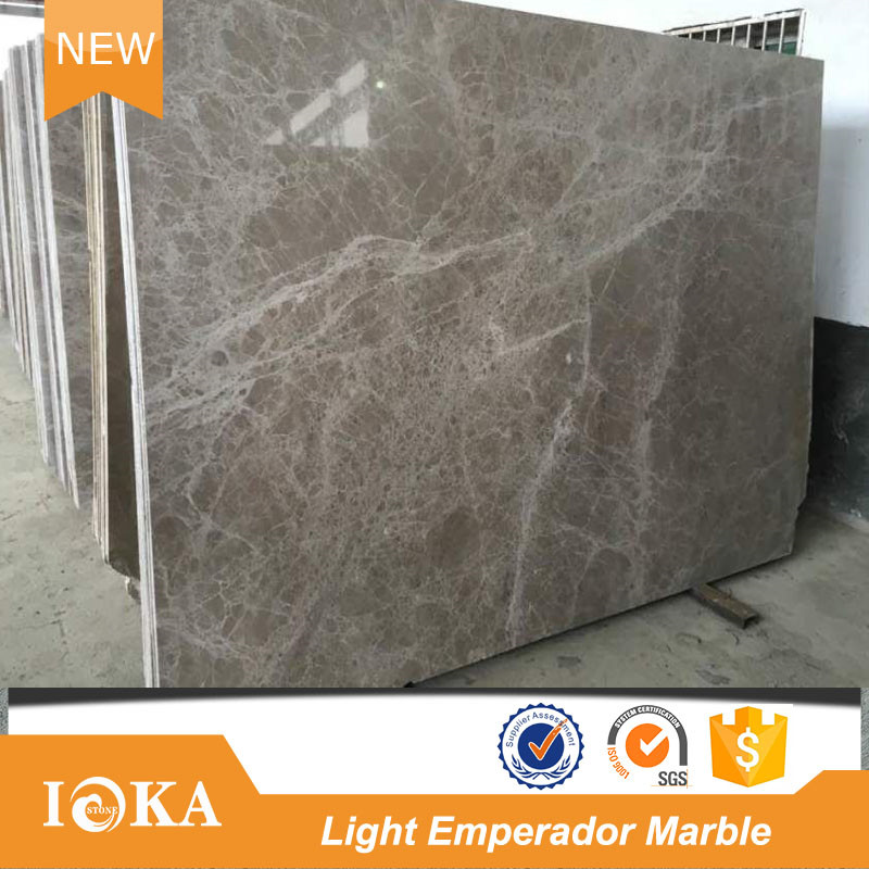 Light Emperador Marble Tile For Wall and Floor