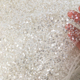 Hand Embroidered Beaded Tulle Fabric Embroidery Beads Net Lace Bridal Fabric