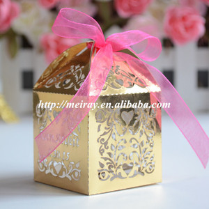 Paper decorations party supplies wedding favour box baby shower favors