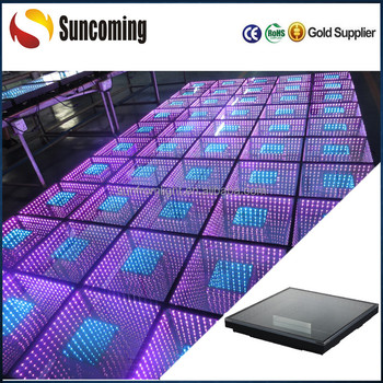 Infinity Mirror 3d Led Neon Dance Floor For Night Club Decoration ...